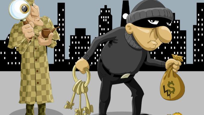 detektivskattjakt i mobilen